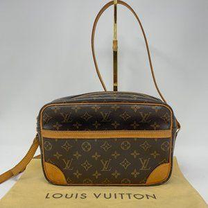 Louis Vuitton Trocadero Handbag Monogram Canvas 27